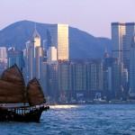Junco em Hong Kong Harbor, China (Foto: divulgação)