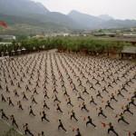 A prática do Kung-fu é muito comum na China (Foto: divulgação)