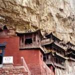 O Templo suspenso da China (Foto: divulgação)