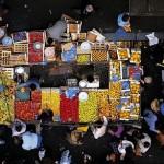 Mercado Aligre em Paris, França (Foto: divulgação)