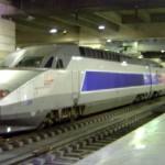 O TGV na estação de Montparnasse, em Paris. (Foto: divulgação)