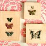 As borboletas deixam a decoração mais charmosa e delicada.
