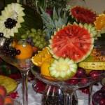 Decoração com frutas: fotos
