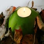 Até as velas ganham um charme especial. (Foto: divulgação)