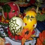 A criatividade para decorar as frutas faz a diferença. Foto: divulgação)