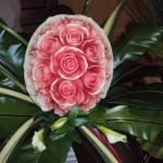A melância é uma das frutas mais usadas na decoração. (Foto: divulgação)