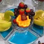 As frutas para a decoração podem ser as da estação. (Foto: divulgação)