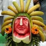 A decoração com frutas pode ser temática. (Foto: divulgação)