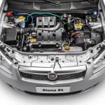 Os motores disponíveis para o Fiat Siena 2013 são o 1.0 e o 1.4, ambos bicombustível