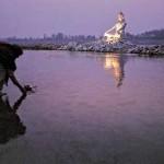 O rio Ganges é sagrado na Índia. (Foto: divulgação)