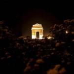 Vista da Porta da Índia, em Nova Délhi (Foto: divulgação)