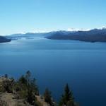 Vista desde a Peninsula de São Pedro - Bariloche - Argentina (Foto: divulgação)