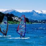 Windsurfers, Lago Nahuel Huapi, Bariloche (Foto: divulgação)