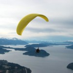 Parapente em Bariloche (Foto: divulgação)