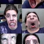 Essas são várias caretas engraçadas e divertidas (Foto: divulgação)