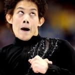 A expressão facial transformou-se em uma careta muito engraçada (Foto:divulgação)