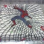 """Bolo personalizado """"Homem Aranha"""" (Foto: divulgação)"""