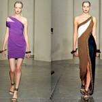 Os vestidos de um ombro só também estarão em voga  (Foto: divulgação)