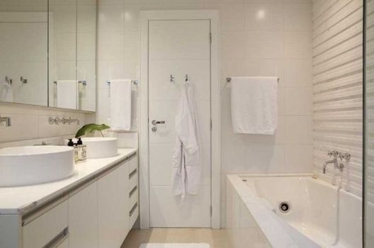 Decoração em banheiro com espelho – dicas e fotos -> Decoracao Banheiro Clean