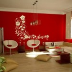 O Feng Shui reconhece o poder do vermelho na decoração da sala.