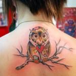 Tatuagem de coruja - No filme Harry Potter as corujas são animais de estimação e mensageiras dos bruxinhos do bem (Foto: divulgação)