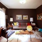O uso do marrom na decoração reforça a estabilidade e afasta a insegurança.