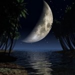 Noite de lua crescente (Foto: divulgação)