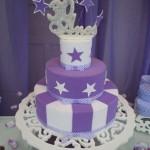 Bolo lilás decorado: fotos