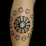 Tatuagem de mandala - Um círculo de energia (Foto: divulgação)