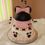 Bolo rosa decoração Minnie (Foto: divulgação)