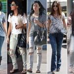 Seja skinny ou estilo boyfrinend, os jeans ficam perfeitos com t-shirts. (Foto:Divulgação)