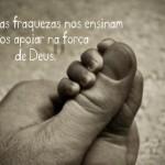 Deus é a nossa força (Foto: divulgação)