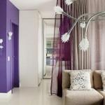 Estimule o lado espiritual dos moradores com a cor violeta.