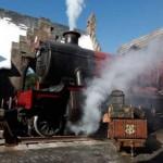 O trem não poderia faltar nessa fábrica de sonhos que é a Disney. (Foto: divulgação)