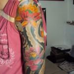 Tatuagem meia manga - Oriental (Foto: divulgação)