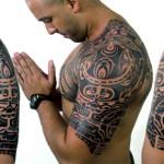 Tatuagem meia manga - Maori (Foto: divulgação)