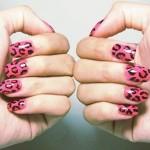 Rosa e preto combinação perfeita. (foto:Divulgação)