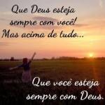 Que Deus esteja sempre com você (Foto: divulgação)