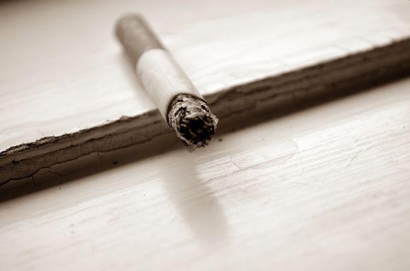 O cigarro é o principal causador do câncer de pulmão (Foto Ilustrativa)