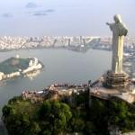 Morro do Corcovado com a estátua do Cristo Redentor - Rio de Janeiro (Foto: divulgação)