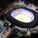 Estádio Olímpico João Havelange, popularmente chamado de Engenhão - RJ (Foto: divulgação)