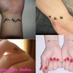 Tatuagens variadas no pulso (Foto: divulgação)