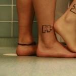 Tatuagem de quebra-cabeça, simboliza o encaixe perfeito. (Foto: Divulgação)