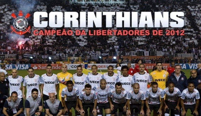 Invicto e por 2 a 0 - Corinthians é campeão da Libertadores 2012 (Foto: Divulgação)