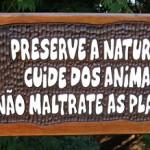 Preserve a natureza (Foto: divulgação)