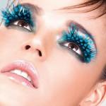 Cílios postiços exóticos carijó azul (Foto: divulgação)
