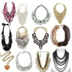 Além de lindos, os maxi colares são muito versáteis e combinam com vários estilos.