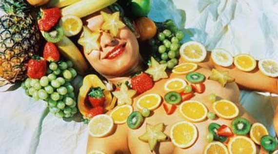 Frutas em prol da beleza. (foto:Divulgação