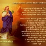 Oração à Nossa Senhora da Imaculada Conceição (Foto: divulgação)
