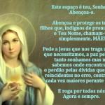 Benção da Nossa Senhora (Foto: divulgação)